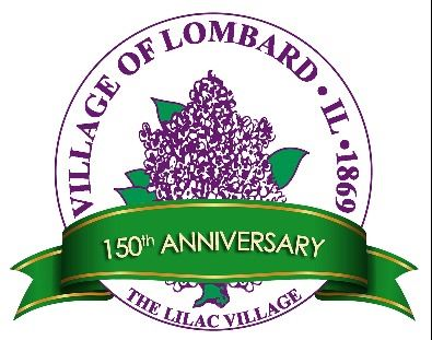 150th Village of Lombard Logo (JPG)
