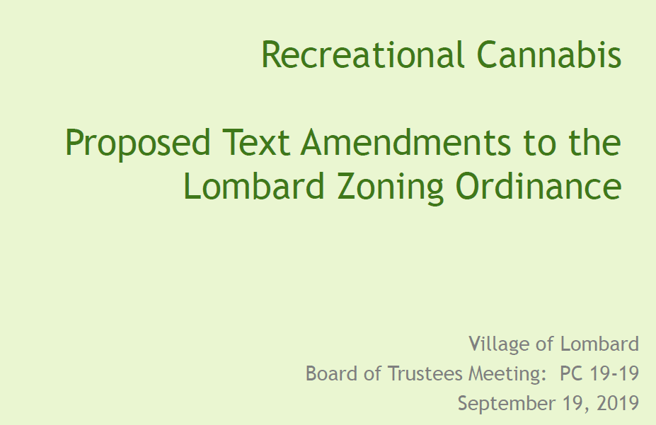Recreational Cannabis Presentation Zoning (PDF) Opens in new window
